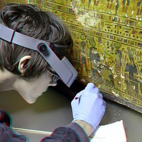 renovation Amon-Priests coffins 3D