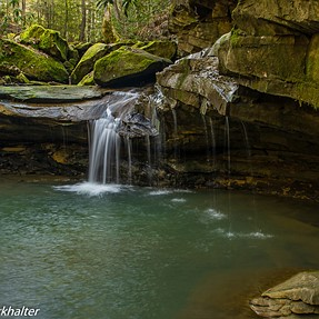 Waterfalls in the Daniel Boone national forest in Kentucky