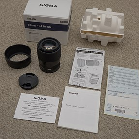 My mini review of Sigma 30mm f1.4 DC DN and samples