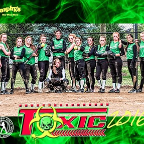 "Team Toxic - annual ""tough"" look team poster"