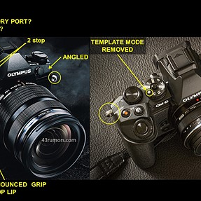 E-M1 MK I vs MK II What other things can you spot?