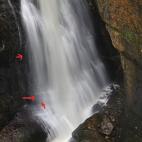Uh Oh Pentax K-1 Mosaicing in waterfalls pics