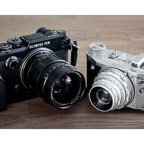 60 years gap - My first and latest camera