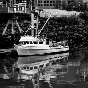 Boat in port