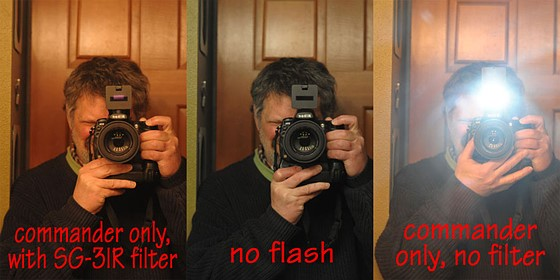 Yes SG-3IR works on D700: Nikon FX SLR (DF, D1-D5, D600-D850
