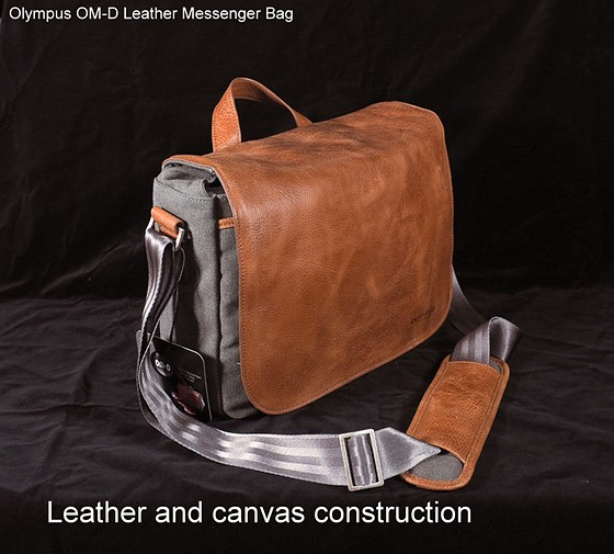 Olympus Om D Leather Messenger Bag Review Lots Of Images