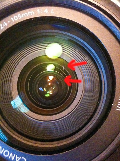 EEEK! Scratched front element!: Canon SLR Lens Talk Forum