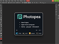 Photopea online image editor is a free Photoshop clone with advanced tools