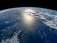 Inspiration4 crew photographed Earth from 575km, more than 150km higher up than the ISS