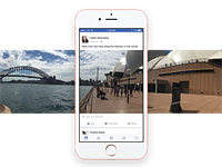 Facebook adds 360 photo viewing to iOS and Android apps