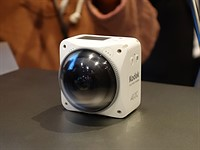 JK Imaging launches splash-proof Kodak Pixpro 4KVR360 action camera