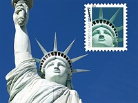 US Postal Service ordered to pay $3.5m after using photo of Statue of Liberty replica