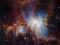 New infrared image of Orion Nebula surprises ESO researchers