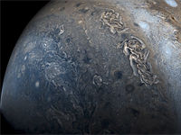 Mathematician turns Juno images into stunning Jupiter flyby video
