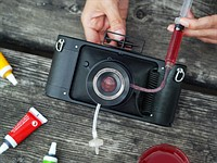 Lomography introduces panoramic camera with liquid-filled lens
