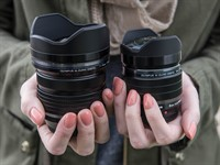 Hands-on with new Olympus PRO 8mm and 7-14mm lenses