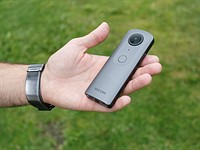 Ricoh Theta V hands-on