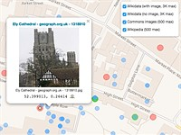 WikiShootMe shows you nearby Wikipedia items in need of photographs