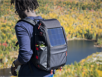 Voltaic Array and Offgrid solar backpacks charge gear on the go