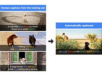 Google algorithm can caption images with 93.9 % accuracy