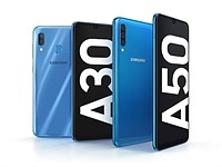Samsung announces Galaxy A30 and A50 dual and triple-camera mid-rangers