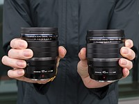 Hands-on with the new Olympus M.Zuiko Digital ED 17mm F1.2 and 45mm F1.2 Pro lenses