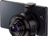 First look: Sony QX10 and QX100 mobile cameras