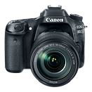 Canon EOS 80D updates Dual Pixel AF, bumps resolution with 24MP sensor