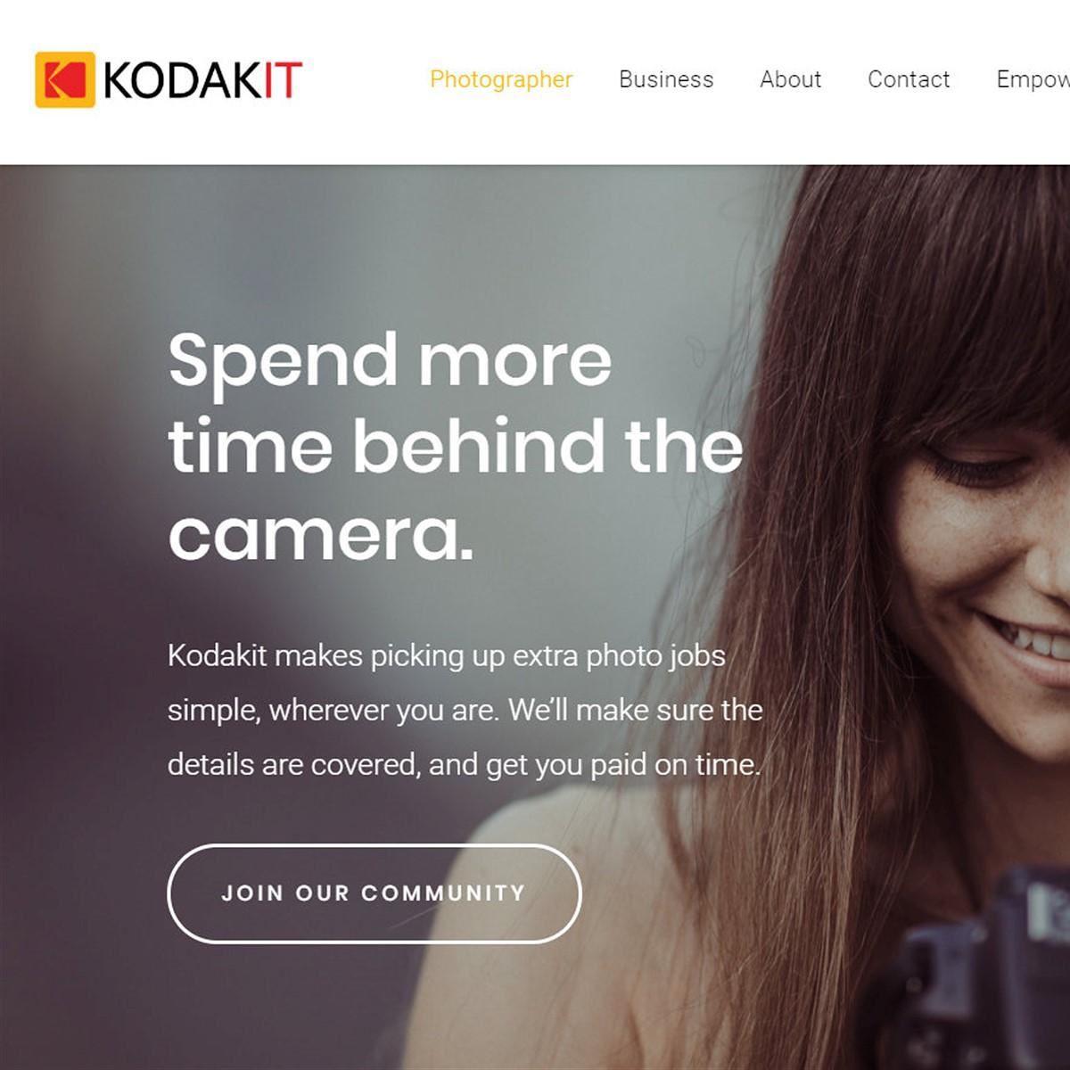 Kodak's photo service KodakIt criticized for stripping photographers