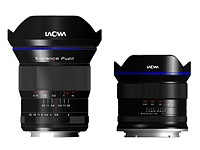 Venus Optics unveils Laowa 7.5mm F2 for MFT and 15mm F2 FE Zero-D