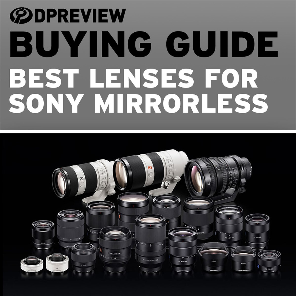Buying Guide: The best lenses for Sony mirrorless cameras: Digital