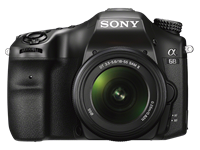 Sony Europe introduces a68 SLT with 79-point AF module