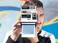 Impossible Project launches special edition Two-Tone B&W Polaroid 600 camera