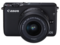 Canon debuts EOS M10 and collapsible EF-M 15-45mm F3.5-6.3 IS