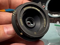 Omnar Lenses reveals its first lens, a 26mm F6 M-mount lens made from Canon P&S optical elements