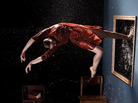 Photo story of the week: An epic dancer shoot in an inverted room