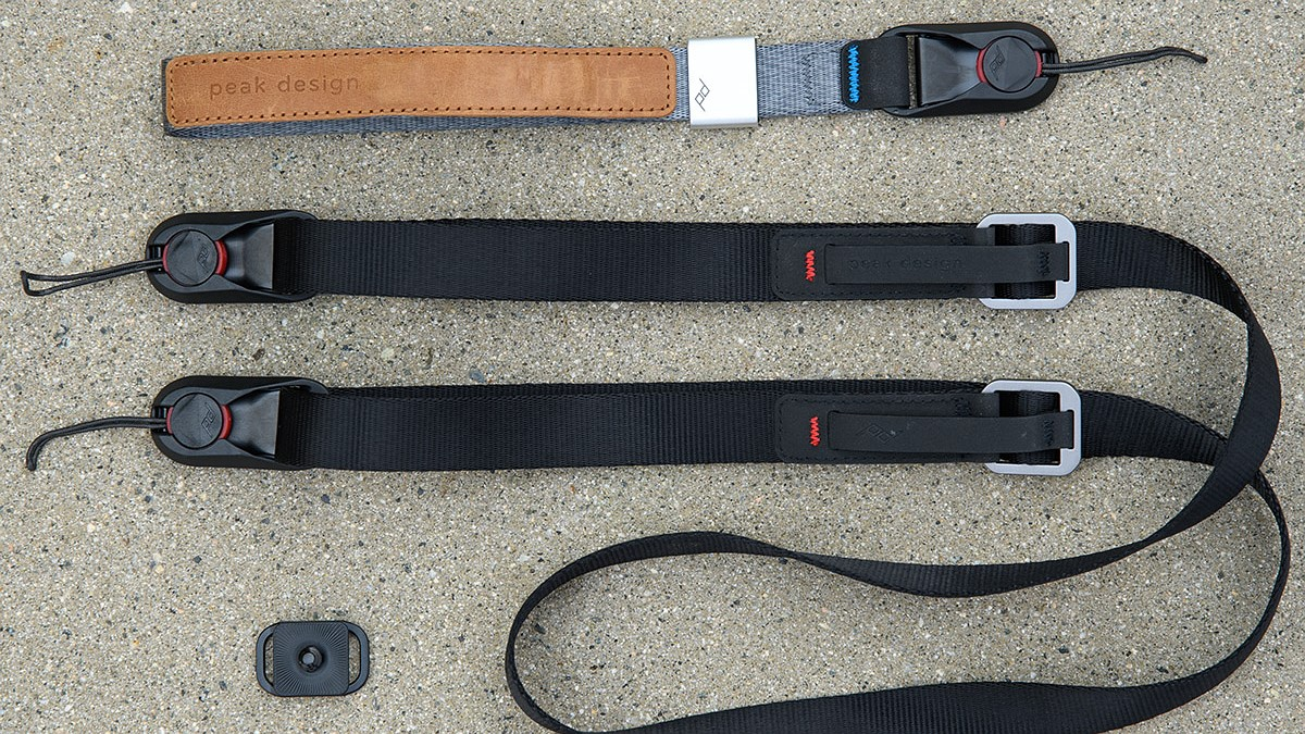 New gear and impressions: Peak Design's 'Leash' shoulder and 'Cuff