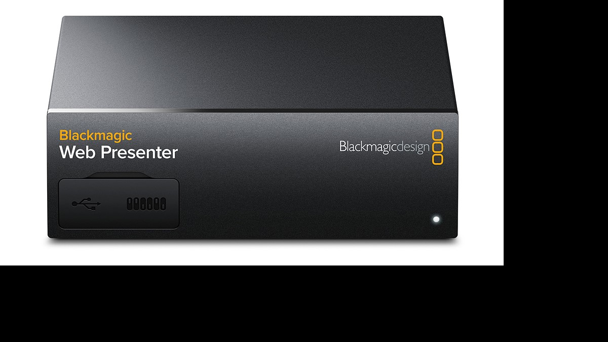Blackmagic Web Presenter Makes It Easy To Use Any Camera For Live Webcasting Digital Photography Review