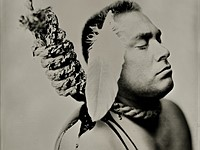 Photographer uses 'antique' photo technique to illustrate struggles of Native Americans