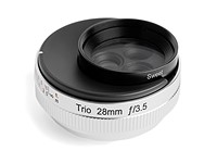 Three's company: Lensbaby launches Trio 28 for mirrorless cameras