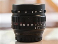 7Artisans will 'soon' announce a ~$200 50mm F0.95 lens for APS-C mirrorless camera systems
