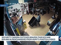 Thieves steal more than $50,000 in equipment from camera store in less than a minute