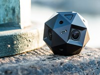 Sphericam 2 professional fully spherical camera records 4K/60 fps videos