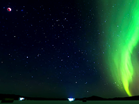 Video: 360° 8K timelapse of the aurora borealis during a lunar eclipse