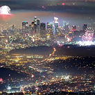 Time-lapse captures thousands of fireworks going off over LA on July 4th