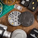VNTG8 turns old 8mm film canisters into SD card holders