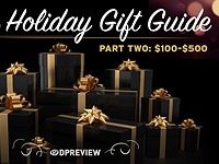 2016 Holiday Gift Guide: $100-500