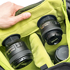 Ansix introduces LensPacks: Rear lens caps with Velcro for bags