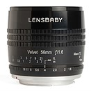 Lensbaby introduces Velvet 56mm f/1.6