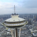 Flying your drone into the Space Needle can land you in jail